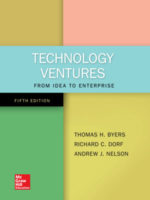 Technology Ventures: From Idea to Enterprise, 5th Edition